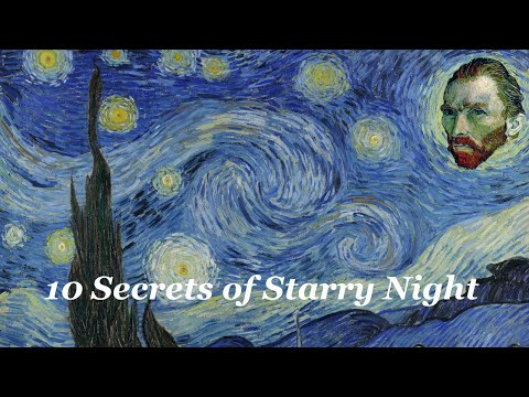 Was Van Gogh's The Starry Night inspired by Hokusai's The