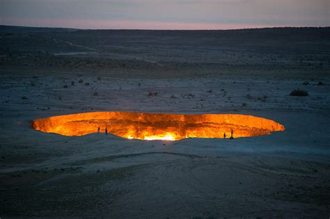 Hell On Earth: A Massive Crater In The Middle Of The