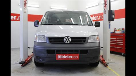 VW Transporter: Hvordan bytte dieselfilter (T5) - YouTube
