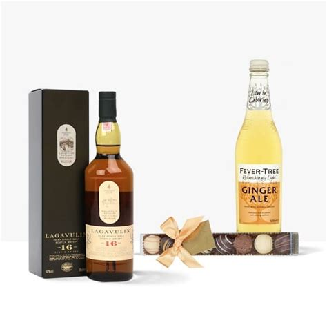 Lagavulin 16 Year Old 20cl Whisky Gift Set | Bottle In A Box