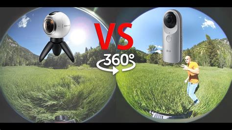 Gear 360 vs LG 360 - What is the best 360 camera?! - Side