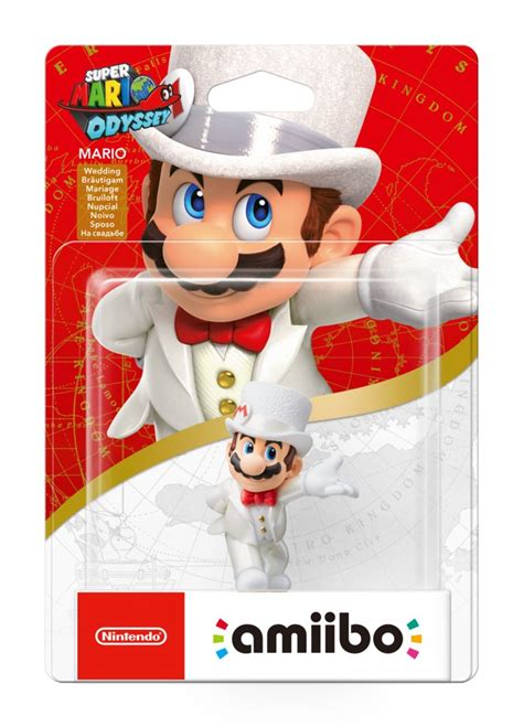 Super Mario Odyssey amiibo Packaging Reveals Three New