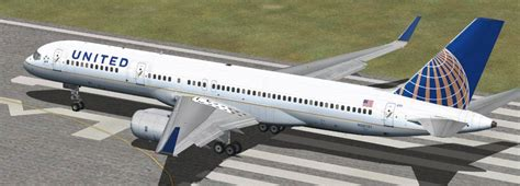 United Airlines Boeing 757 QWHDT 3-Pack for FSX