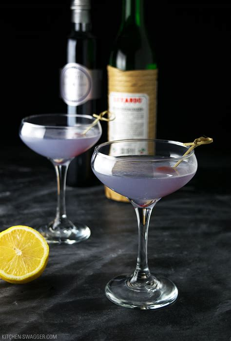 Aviation Cocktail Recipe | Kitchen Swagger