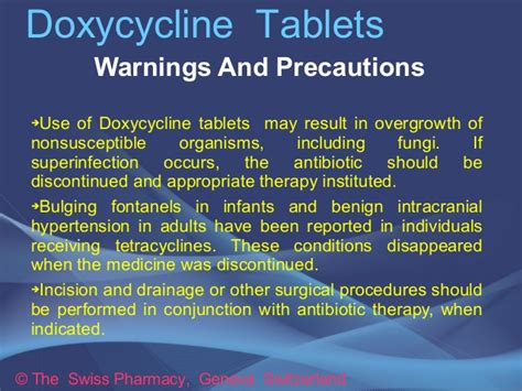 Doxycycline Tablets for Treatment of Bacterial Infections