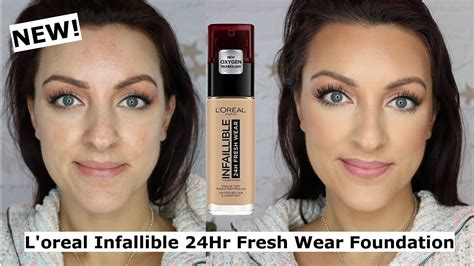 NEW L'oreal Infallible 24H Freshwear Foundation Review