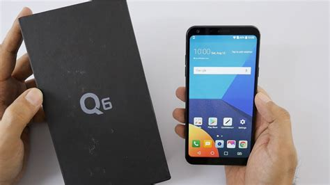 LG Q6 Mid Range Smartphone with 18:9 Screen Unboxing