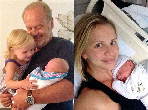 Kelsey Grammer, Kayte Walsh Welcome Baby Boy! - The