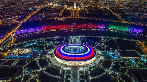From Moscow to Yekaterinburg: the 2018 World Cup venues