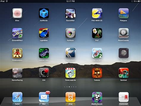 Top 20 iPhone games for the iPad