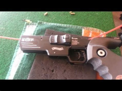 Pistolet WALTHER SSP cal