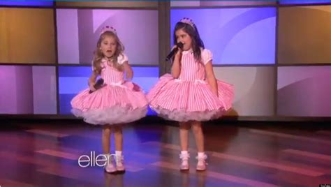 Sophia Grace And Rosie Perform Taylor Swift Song On 'Ellen