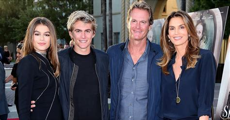 Cindy Crawford and Family at Sister Cities LA Premiere