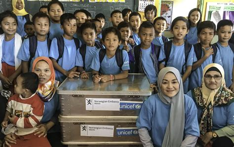 "Norway joined UNICEF to bring Filipino students ""Back to"