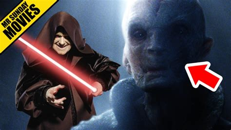 Who Is Snoke? (Darth Plagueis Theory) - STAR WARS: THE