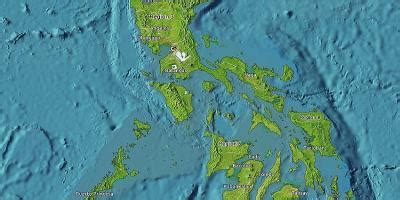 Map of the Philippines via satellite live - Philippines