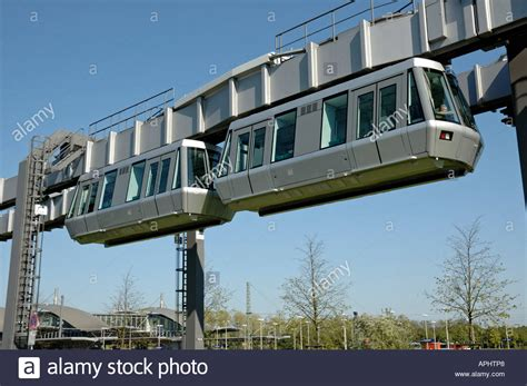 Skytrain, Duesseldorf International Airport, Germany