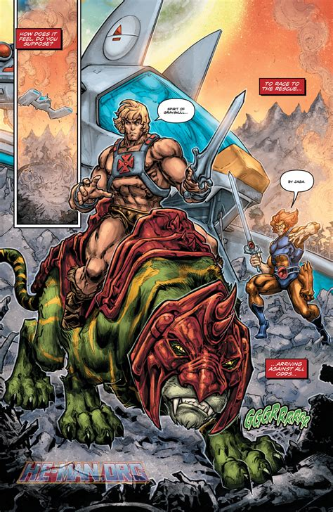 He-Man/Thundercats #6 | Official Talkback thread (SPOILERS)