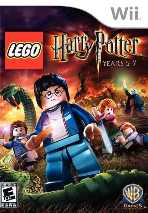 Lego Harry Potter Years 5-7 Nintendo Wii Game