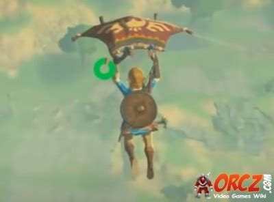 Breath of the Wild: Paraglider - Orcz
