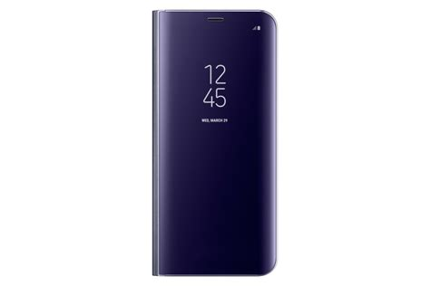 Clear View Stand Cover for Galaxy S8+ Violet | Samsung UK
