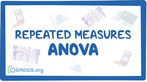 Repeated measures ANOVA: Video, Anatomy & Definition | Osmosis