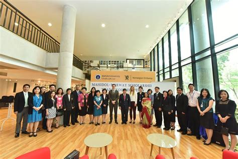 Mahidol-Norway Scholarships reception - ScandAsia