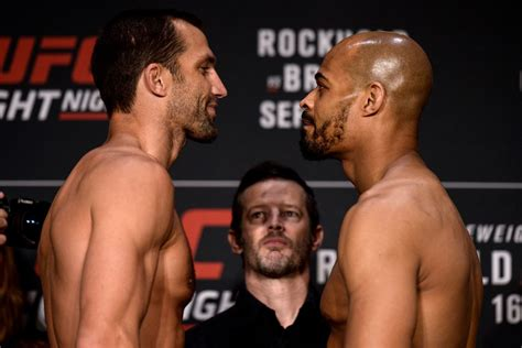 UFC Pittsburgh Results: Rockhold vs