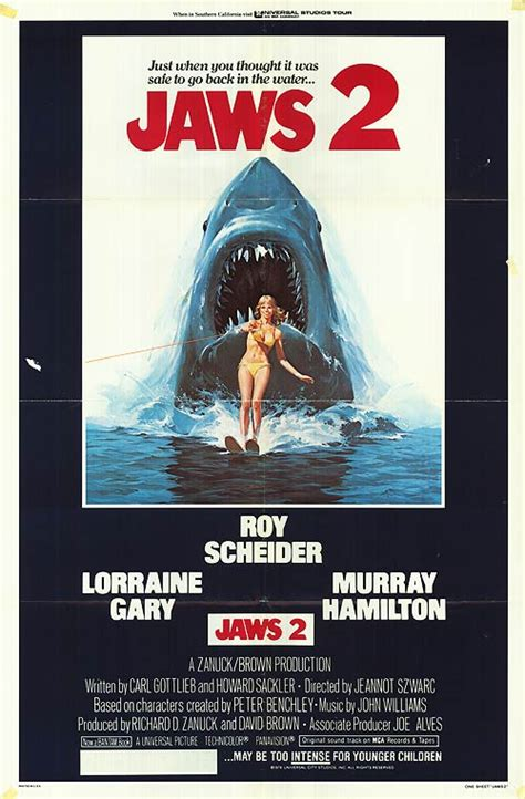 Jaws 2 movie posters at movie poster warehouse movieposter
