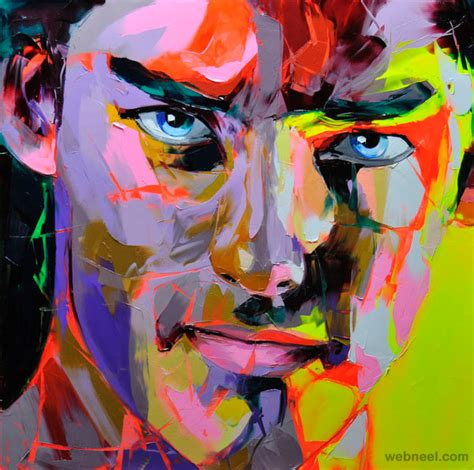 25 Vibrant and Explosive Colorful Paintings by Francoise