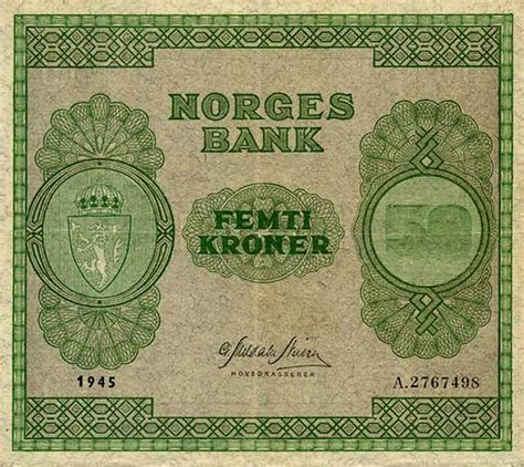 Will's Online World Paper Money Gallery - NORWAY