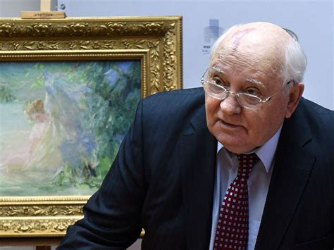 Mikhail Gorbachev says 'it looks like the world is