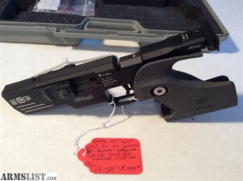 ARMSLIST - For Sale: Limited Production Walther SSP Target