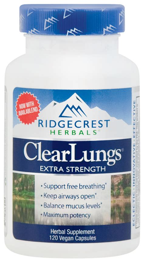 Clear Lungs Extra Strength, 120 Capsules | Piping Rock