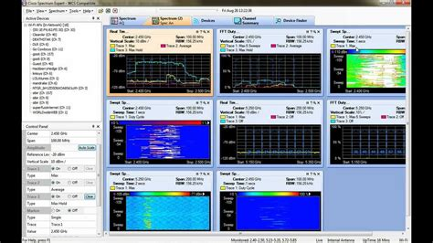 How to use Cisco Spectrum Expert (or at least how I use it