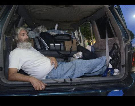 A car to call home: Surprising number of homeless live in