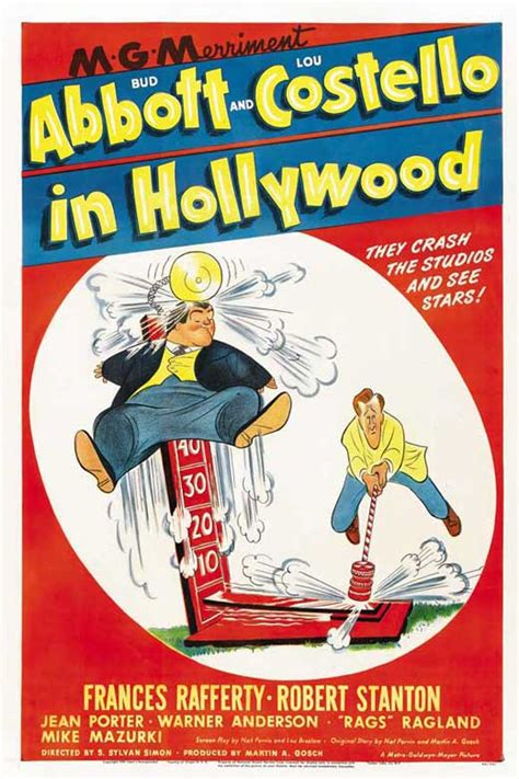 Abbott and Costello in Hollywood Movie Posters From Movie