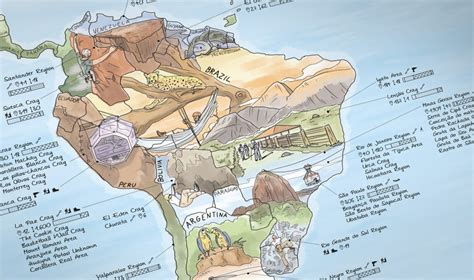 Climbing Map | Illustrated world map with the best