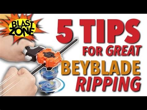 5 Tips For Great Beyblade Ripping - Burst, MFB or Original