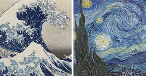 How Van Gogh's Starry Night was inspired by Hokusai's