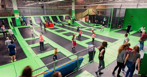 One-Hour Session at Go Jump Krakow Trampoline Park