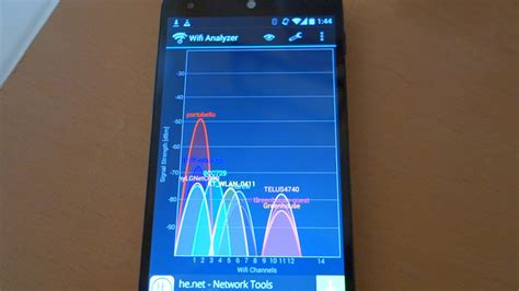 How to use Wifi Analyzer app on Android Tutorial demo by