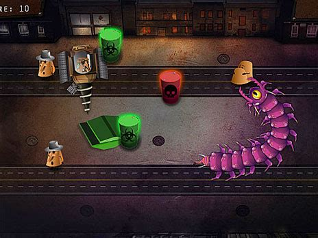 Crazy Alien Snake Game - Play online at Y8