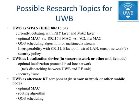 Wireless pan technologies ieee 802