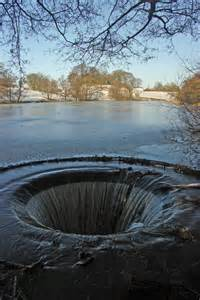 The Fish Pond overflow, North Rode