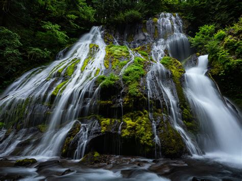 Waterfalls Gifford Pinchot National Forest Washington Usa