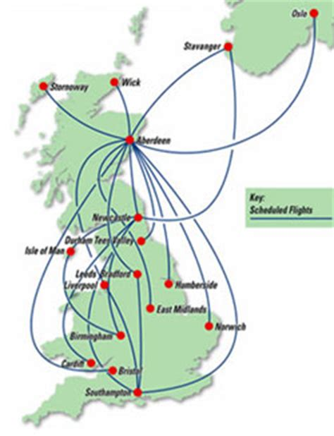 Eastern Airways adds Liverpool; Aberdeen is busiest of 17