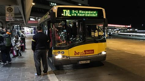 How to get from Tegel Airport to Berlin destinations by