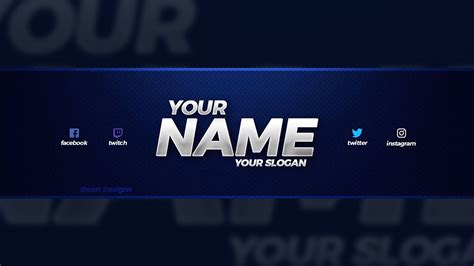NEW FREE 2018 YouTube Banner Template! - (Free YouTube