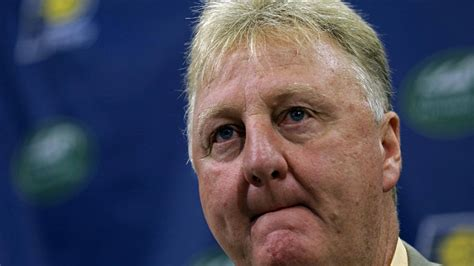 Larry Bird Stepping Down as Pacers' President